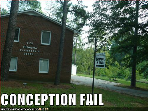 Conception Fail